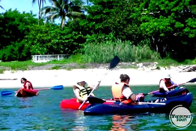 Kayak a La Isla De Sacrificios Saliendo de Veracruz o Boca del Río