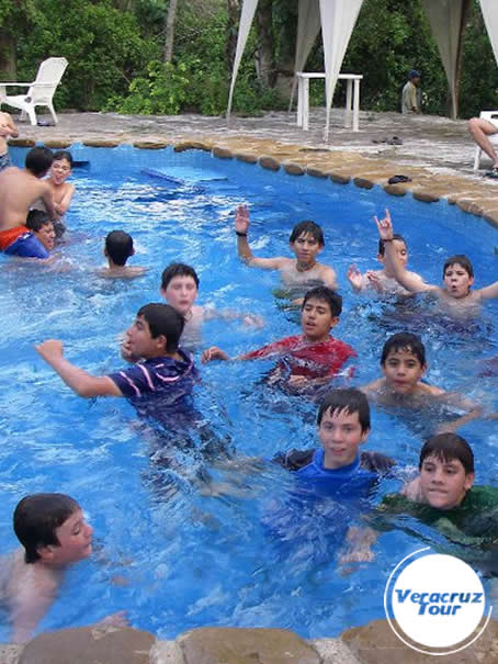 Alberca En El Campamento Río Filobobos Veracruz