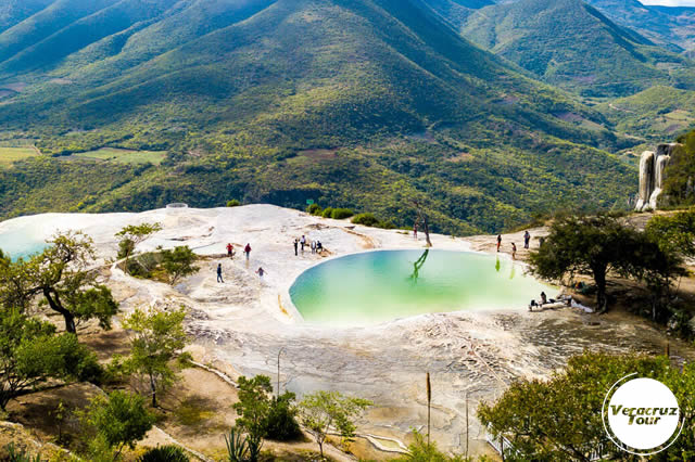 Excursión a Hierve El Agua Saliendo De Veracruz, Cardel y Xalapa